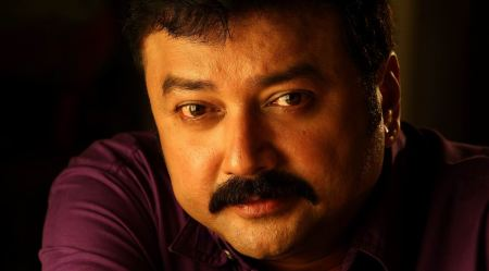 A photograph of actor Jayaram